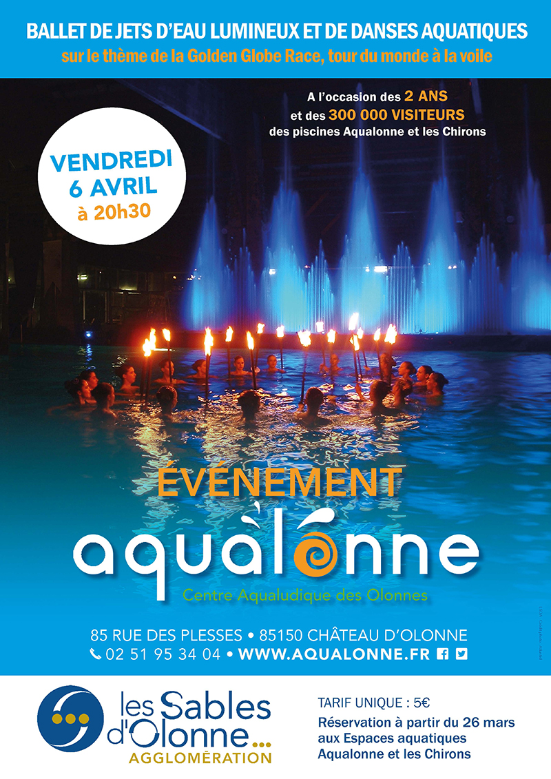 Spectacle Aquatique à Aqualonne